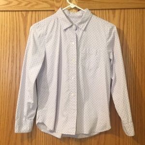 Pale lavender J. Crew button down